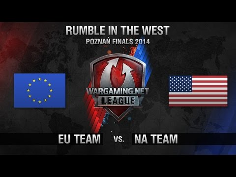 EU vs. NA - HyperX Showmatch - Rumble in the West - World of Tanks