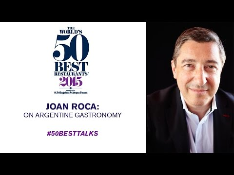 Joan Roca on Argentina at #50BestTalks
