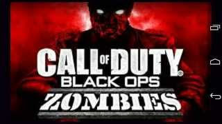 Call of duty black ops zombies (APK+DATOS SD)