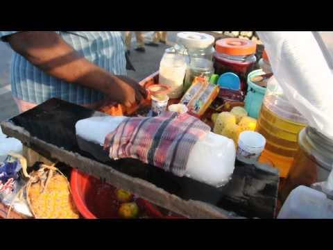 Calicut beach summer special drink - Ice orathi
