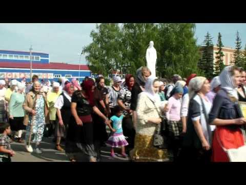 Царские дни в р.п.Любинский Омской области, 2013 г. Часть 1.
