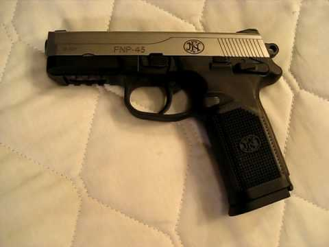 Owner's Report of FN Herstal FNP-45 pistol - .45 ACP / FNP 45 Video