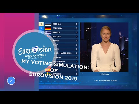 MY VOTING SIMULATION EUROVISION 2019 | AFTER THE SHOW | The Eurovision Fan