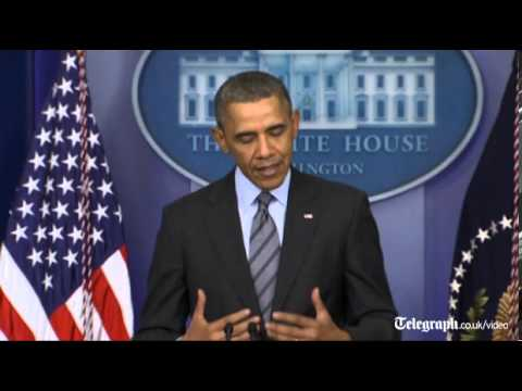 Ukraine crisis: US President Barack Obama says Crimea separation would violate law