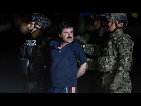 Mexico Launches Process To Extradite Drug Lord Guzman To US