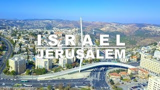 Jerusalem - the capital of Israel aerial drone video | ירושלים מהרחפן