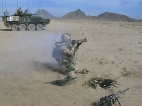 FIRING CANADIAN ROCKET LAUNCHERS IN AFGHANISTAN