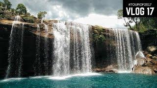 The Most Stunning Waterfall in Meghalaya | Vlog 17 | #Tourof2017