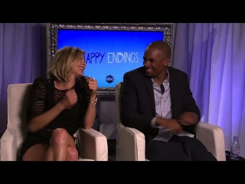 "Eliza Coupe & Damon Wayans Jr. Say Their Characters ""Have Way Too Much Sex to Break Up"""