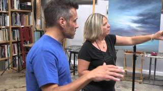 """The American Canvas"" Episode 1 How to do a sky painting"