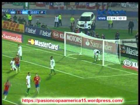 (Partidazo) Chile 5 Bolivia 0 (ADN Radio Chile) Copa America 2015 Los goles