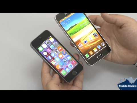 Обзор Samsung Galaxy S5 против iPhone 5S