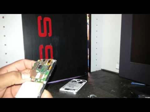 Como Cambiar la Bateria en un Alcatel OneTouch Fierce 7024W T-Mobile