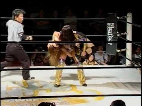 Dark Angel (Sarah Stock) vs. Saki Kashima