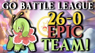 GO Battle League: 26-0 WIN STREAK TEAM!!!