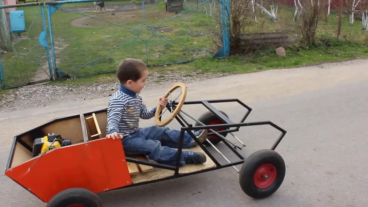 Детские бензиновые автомобили своими руками 51