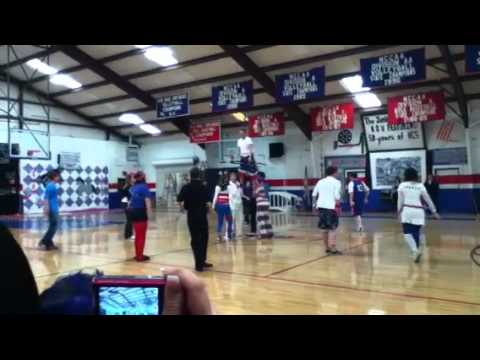 Hendersonville Christian School- Junior cheer
