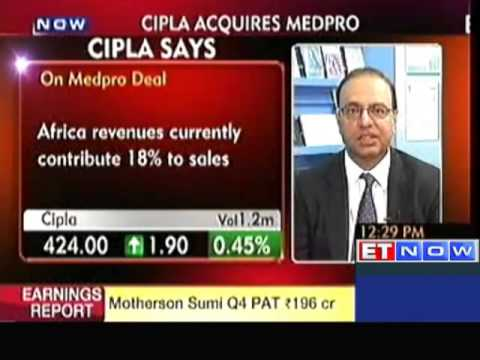 Cipla to to Close the Deal with Medpro in September