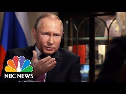 Confronting Russian President Vladimir Putin - Part 1 Megyn Kelly Nbc News
