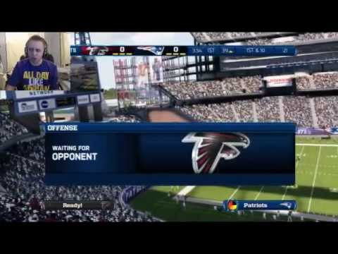 Madden 13 - Late Night Livestream - Falcons Secret Weapon!
