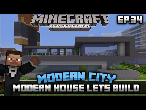 minecraft xbox 360 how to build a modern city
