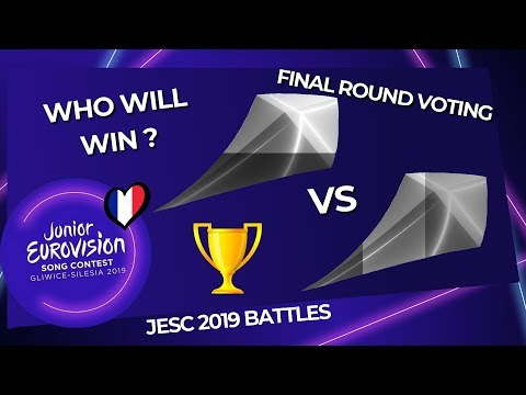 Junior Eurovision 2019 Battles | Final Round Voting (VOTE NOW)