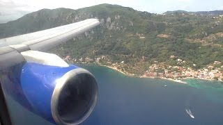 Thomas Cook Boeing 757-200 | Gatwick to Corfu | Takeoff and Landing - TCX3008