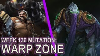 Starcraft II Co-Op Mutation #136: Warp Zone [No Units Allowed]