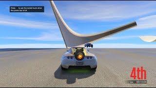 قراند 5 : اخطر سباق ممكن تشوفها بحياتك!!! GTA 5 - The Most Dangerous race