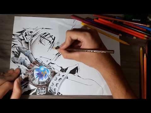 Sawada Tsunayoshi (KHR!) -  Speed Drawing