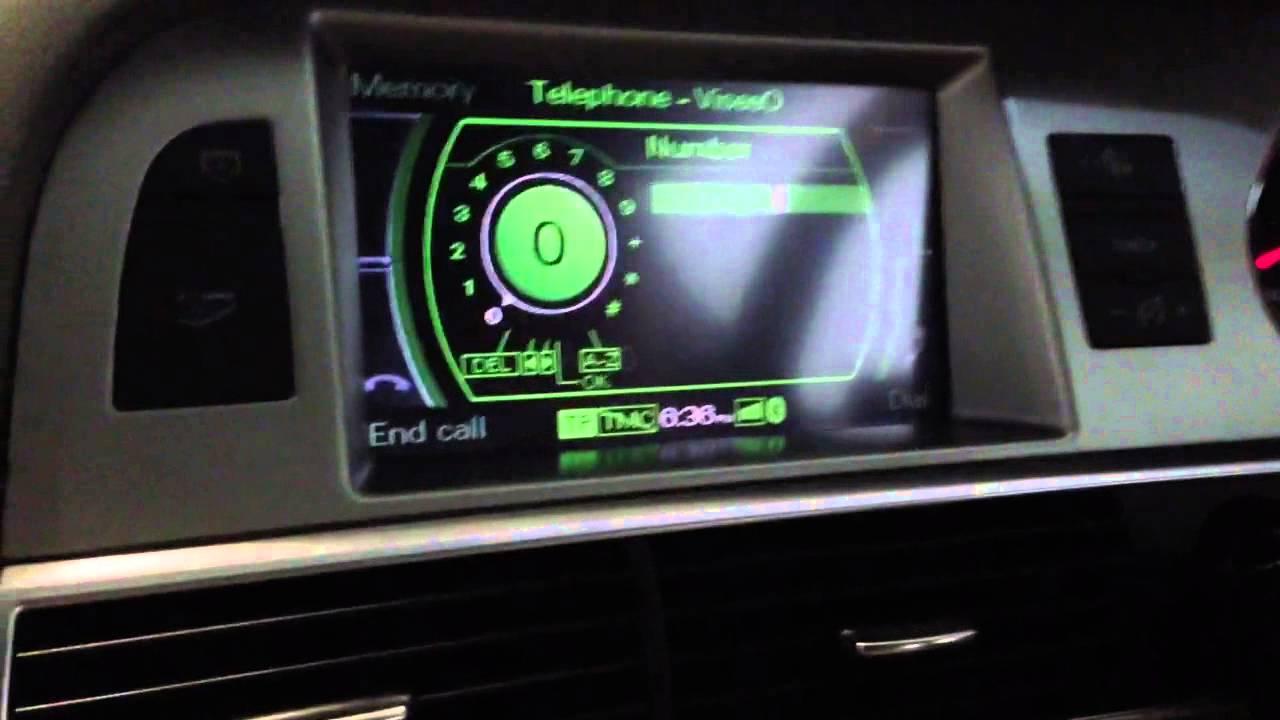 Audi A6 2008 A6c6 Mmi2g Navigation Reverse Camera
