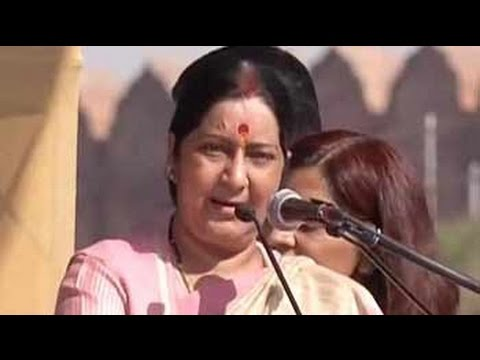 Sushma Swaraj pushes for declaring Bhagwad Gita as national book