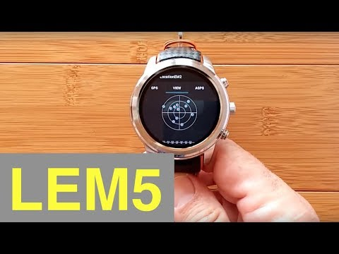 LEMFO LEM5 Android 5.1 Smartwatch: First Look