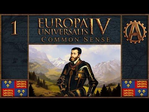 Europa Universalis IV Let's Play Common Sense as England 1
