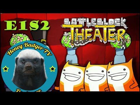 Театр боевых блоков (BattleBlock Theater) #2: Шляпы, блоки... пылесос