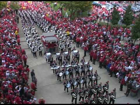 OSU Marching Band Entering Ohio Stadium