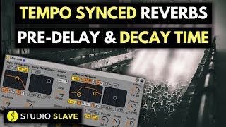 How To Mix | Tempo Synced Reverb Pre Delay & Decay Times | Ableton Live Quick Mix Tips