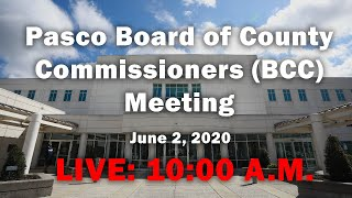06.02.2020 Board of County Commissioners(BCC) Virtual Meeting