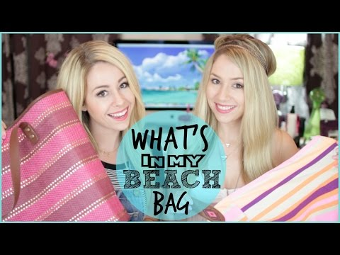 What's In My Beach/Pool Bag Essentials | 2014 ☀️