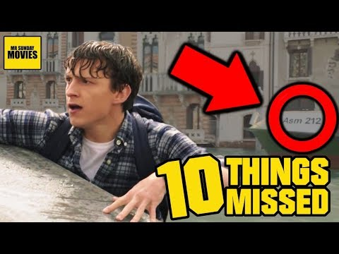 Spider-Man: Far From Home Trailer - Easter Eggs & Things Missed