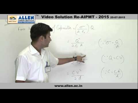 AIPMT 2015 Re-Exam Physics Solution – Q. No. 141, 147, 159 (Paper Code-A)