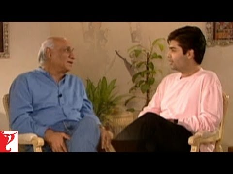 Yash Chopra In Conversation With Karan Johar -  Part 1 - Lamhe