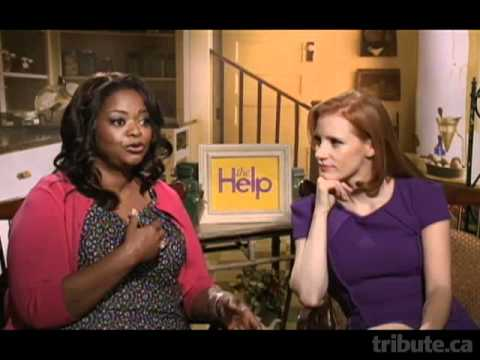 Octavia Spencer &amp; Jessica Chastain - The Help Interview