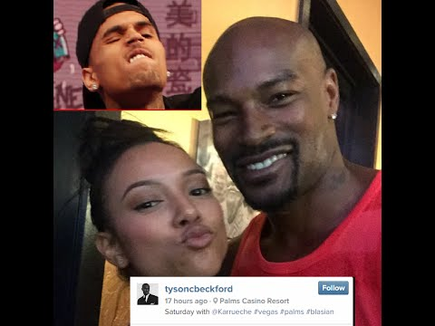 Chris Brown Blames His Emotional Outburst against Tyson Beckford on Being LIGHT SKIN!