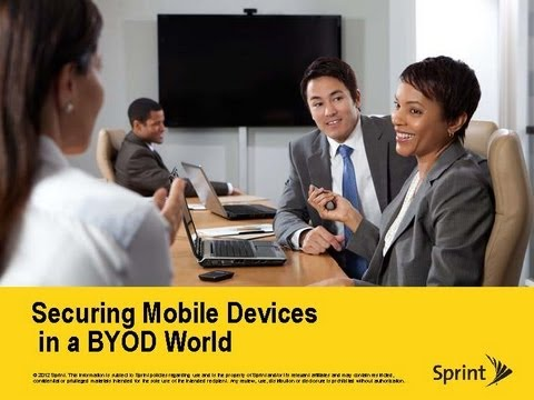 Mobile Solutions: Securing Mobile Devices in a BYOD World - A PSP Forum