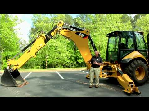 Cat 450F Backhoe Loader Overview