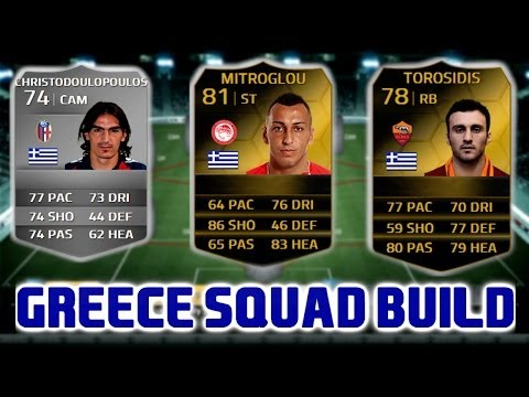 FIFA 14 Ultimate Team - Greece Squad Builder Ft. IF Mitroglou, IF Torosidis and Christodoulopoulos