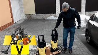 Минимойка karcher k2 против karcher k3 /Pressure Washer k2 vs k3