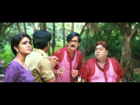 Enna Satham Indha Neram | Tamil Movie | Scenes | Comedy | Manobala gives a scare to Nithin Sathya