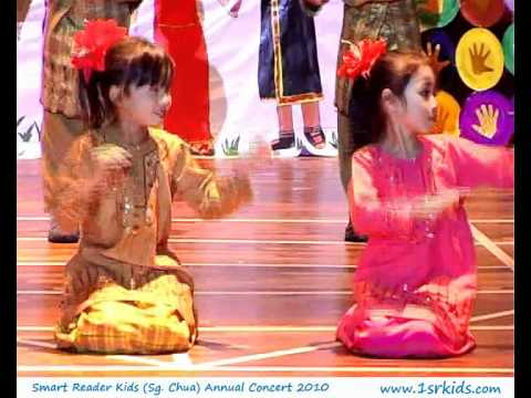 Malay Cultural Dance At Smart Reader Kids (sungai Chua, Kajang) Annual Concert 2010 video